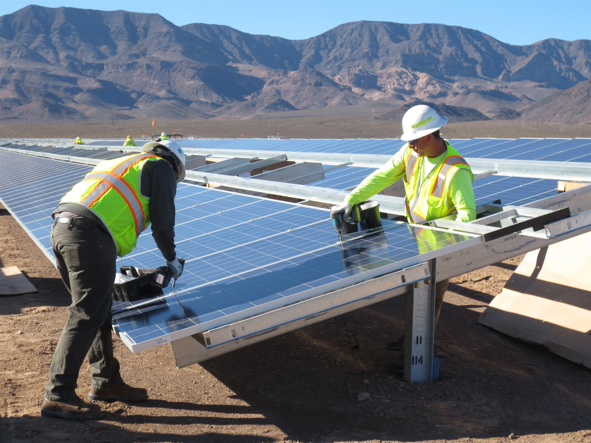 Solar Installation and Commission